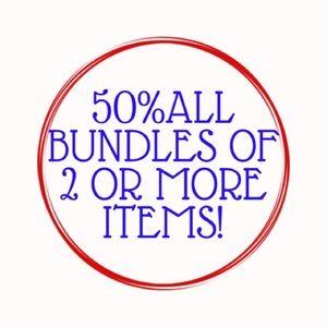 MY ENTIRE CLOSET IS ON SALE! 50% off bundles